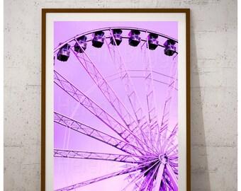 Carnival Printables, Ferris Wheel, Ferris Wheel Decor, Ferris Wheel Art, Ferris Wheel Print, Circus, Torquay Photos Pictures Prints Art Gift