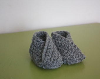 Simple Baby Booties - Basic Design
