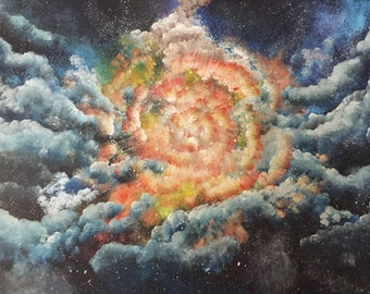 Intergalactic explosion