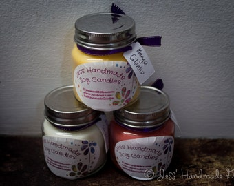 Handmade Soy Candles 80ml