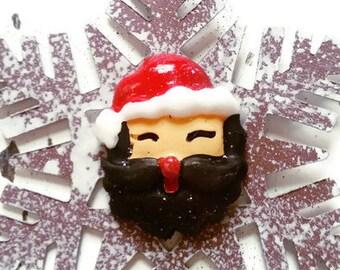 Yukon Jim Snowflake Lumberjack Holiday Christmas Ornament Beard Bear YU0013