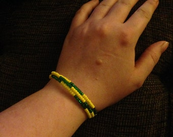 Oregon Ducks bracelet