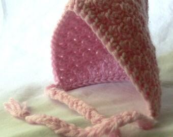 Crocheted Newborn Pixie Hat