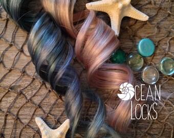 Pastel Hair Extensions, Hair extensions clip in, Ombre hair extension, Festival Hair, Pink Hair, Blue Hair, Silver Hair, Human Hair