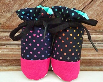 Itty Bitty Baby Booties- The Natalie