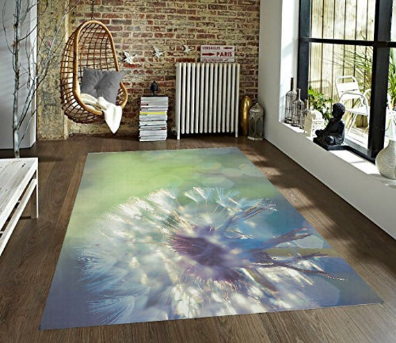 Dandelion Area Rug by InLightImageryHome