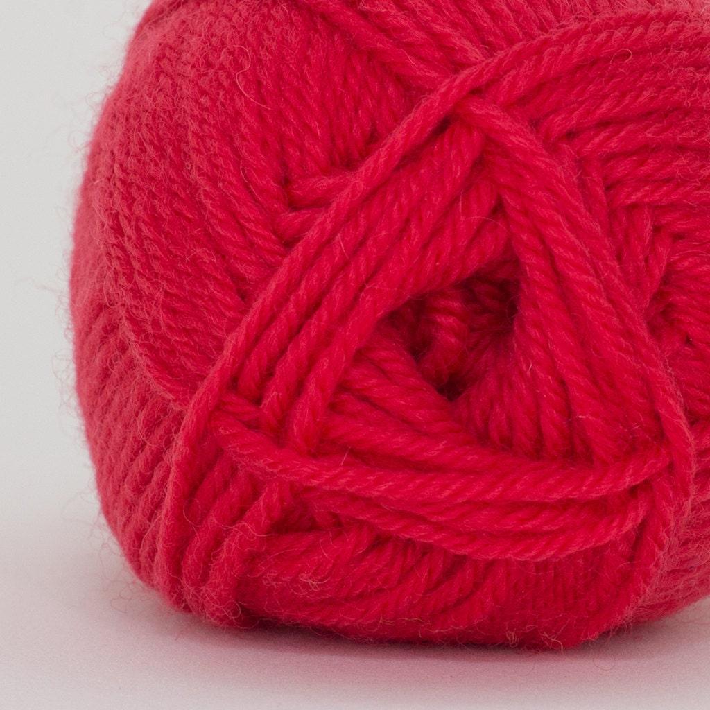 Machine Knitting Yarn Australia : Red pureaustralianwool handknittingyarn ply