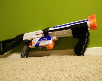 3D Printed Nerf Retaliator Pump Grip Conversion Kit