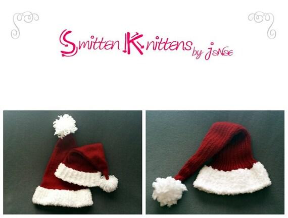 Loom Knitting Patterns Yuletide Stocking Hat Small Gauge