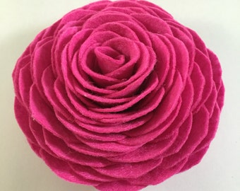 Felt Rose Gift Decor