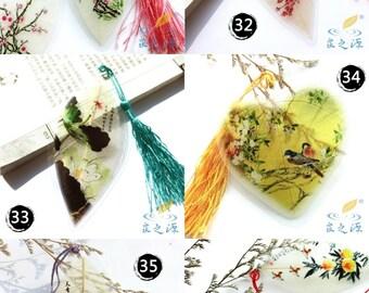 Leaf Veins handmade bookmarks