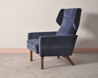 Mid century recliner chair