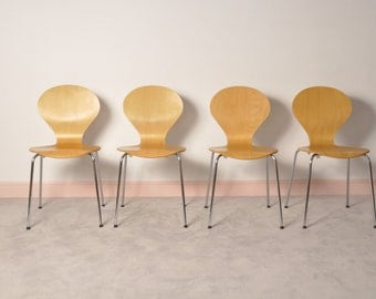 Set of  4 chairs designed BY PHOENIX,made in denmark