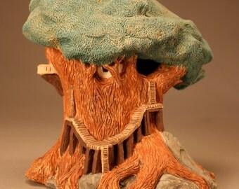 Tree House Sculpture 1