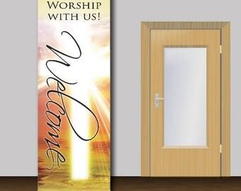 Welcome Church Banner - 1006