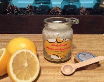 Lively Lemon Poppyseed Sugar Scrub