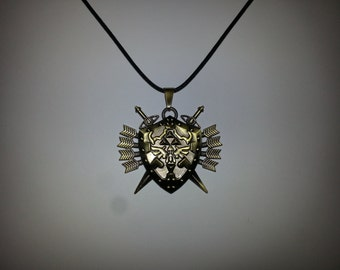 Zelda Shield Necklace