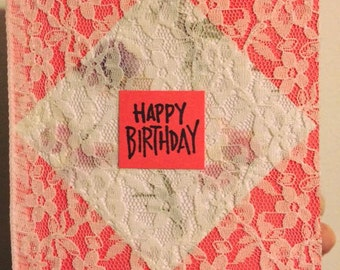 Happy Birthday -Lace 1