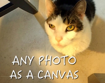 Make any photograph a gallery wrapped canvas, ready to hang, canvas photography, wall art