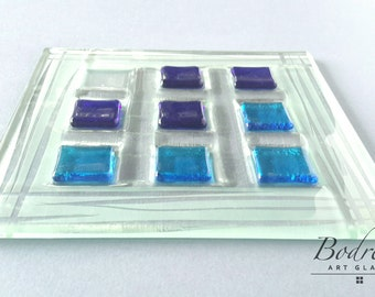 Game table glass Tris or fillet