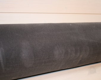 Charcoal Waxed Canvas - #10 Duck Canvas - Free Shipping!