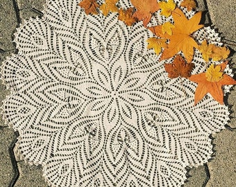 A doily autunno
