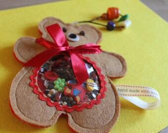 Toy Felt Bear