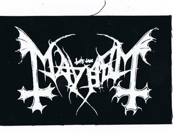 Mayhem Band Patch