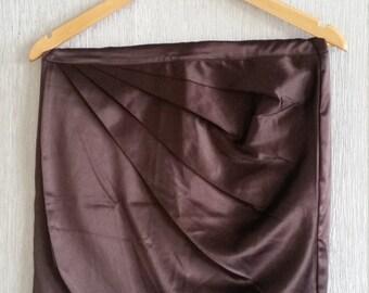 My Secret brown skirt