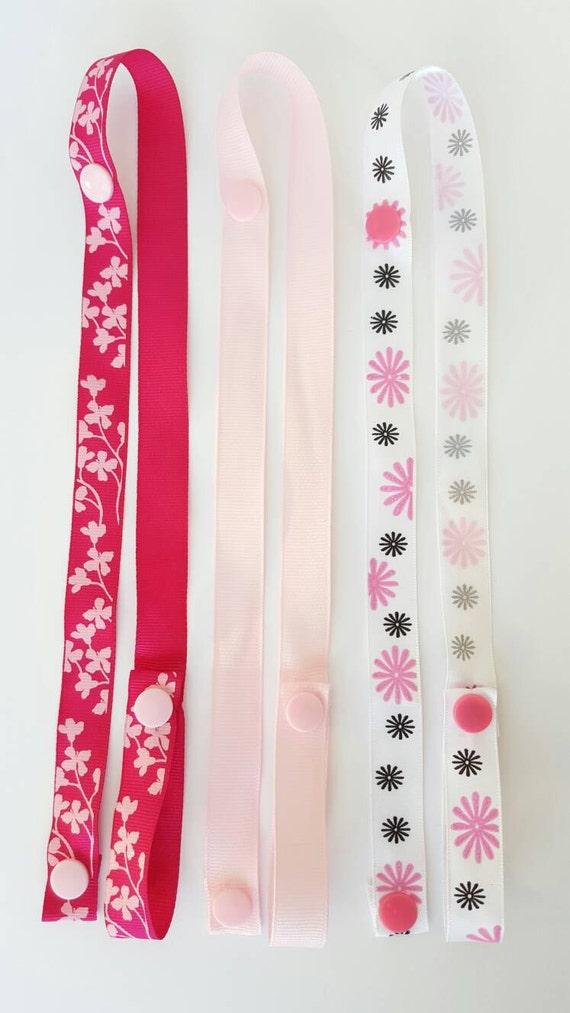 Handmade sophie saver - ribbon strap - baby accessories
