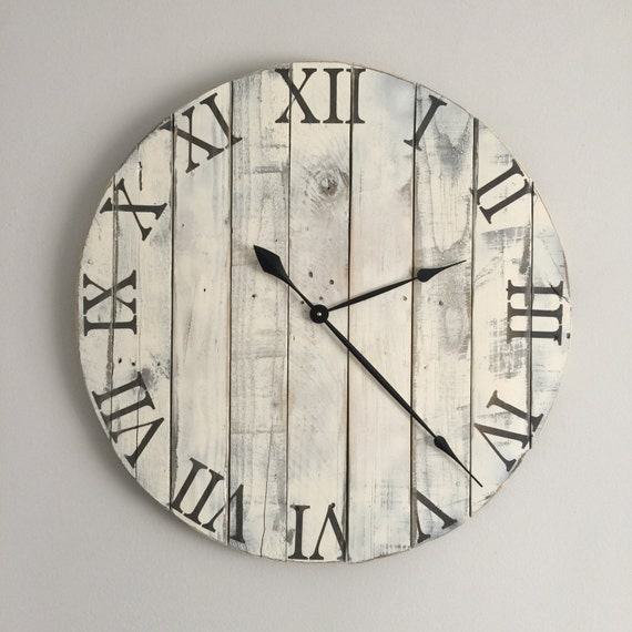 30 In Wall Clock White Oversized Wall Clock By