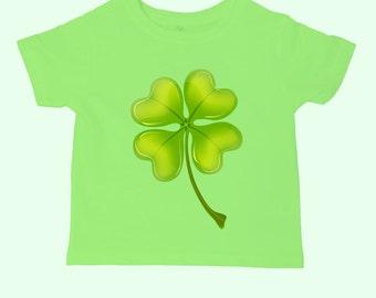 Irish Shamrock St Patricks Day Kids Toddler T-SHIRT