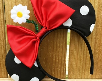 Disney inspired Minnie Mickey Mouse ears