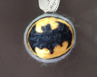 Bat-a-bauble - batman, christmas bauble, decoration