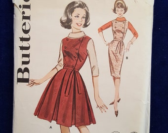 vintage Butterick pattern 9908 fitted jumper and jacket