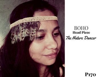 Boho Head Piece- The Nature Dancer