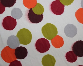Multi Color Polka-dot Lycra/Spandex 4 way stretch Matt Finish Fabric