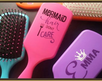 Personalised Paddle HAIRBRUSH  NEW