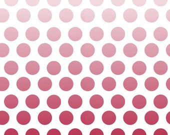Red Polka Dot Fabric c310 80 Red Cotton Ombre Printed Fabric - Quilting Cotton - Riley Blake Designs Sewing Projects - Ombre Fabric