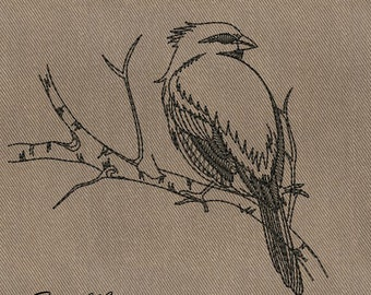 Bird - MACHINE EMBROIDERY DESIGN