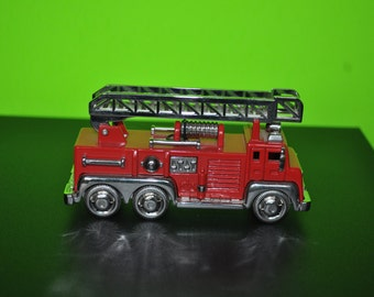 Fossil Red Ladder Firetruck Clock Limited Edition