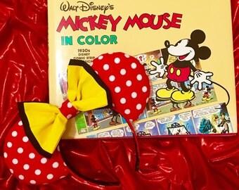 Classic Polka Dot Mouse Ears