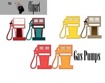 Gas Pump Clip Art
