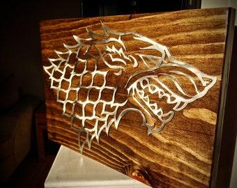 Custom Wood+Metal Wall Art