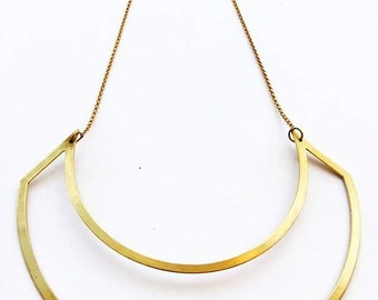 Simple Lines Necklace
