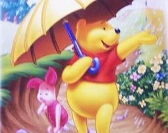 Disney Winnie The Pooh Piglet Poster - New 24x36 Print