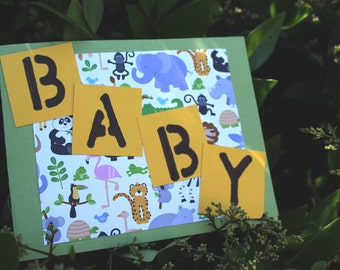 Baby Zoo Animal Greeting Card