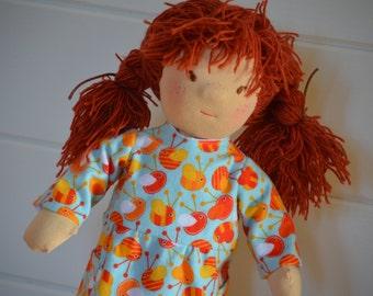 Waldorf doll Zuzia - 19'' Waldorf inspired doll