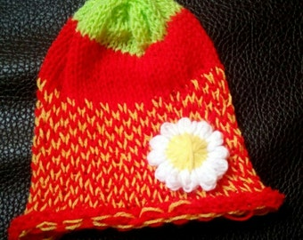 "Cycling Cap ""Strawberry"""
