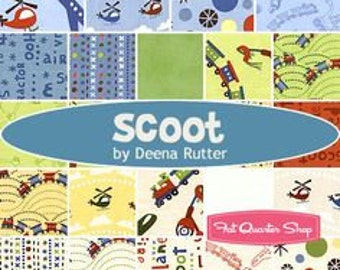 SCOOT by Deena Rutter for Riley Blake Fabric Bundles